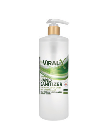 Viral-X Hand Sanitizer with Aloe 1 Liter