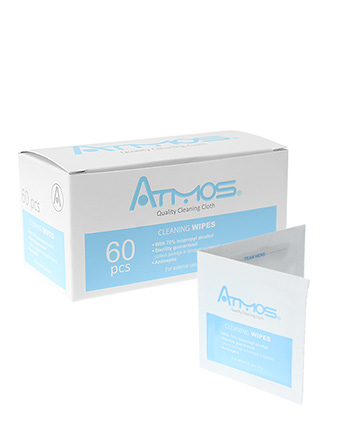 Atmos Alcohol Cleaning Wipes